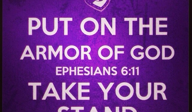 Ephesians 6: Put on your armour: Notes from Louie Giglio: The Word Series @ Passion City Church in Atlanta