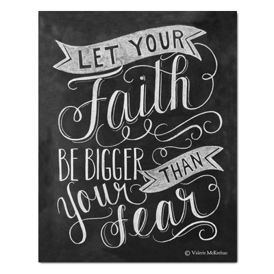 Is fear or faith your motivator?